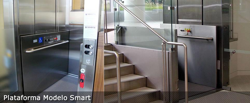plataforma elevatoria para deficientes modelo smart